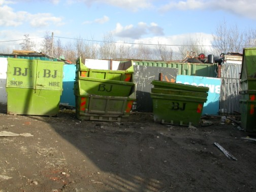 scrap metal collection north west